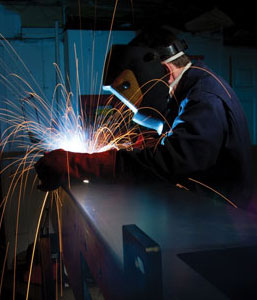 welding safely