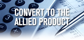 Calculate and Convert to Allied Product