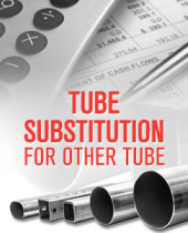 Calculate Tube Substitution for Other Tube