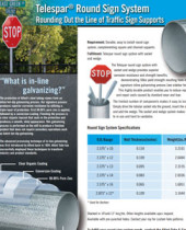 telespar-round-sign-post-specification-sheet
