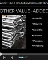 Mechanical Fabrication Capabilities Video